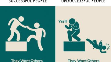 successful people vs unsuccessful please