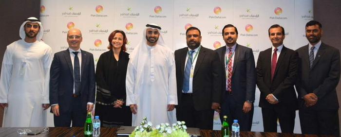 Yahsat Signs agreement with Pak Datacom Limited.