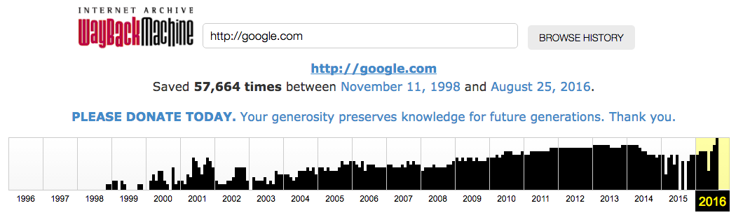 internet archive site search