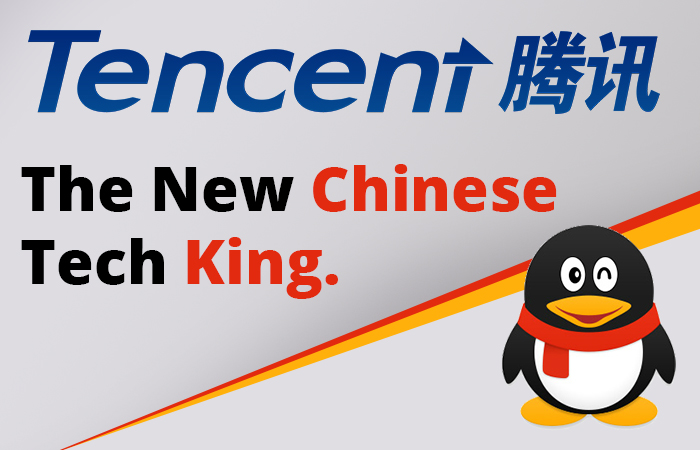 Tencent is Chinese new tech King.