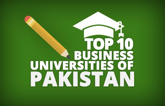 top10 business universities pakistan