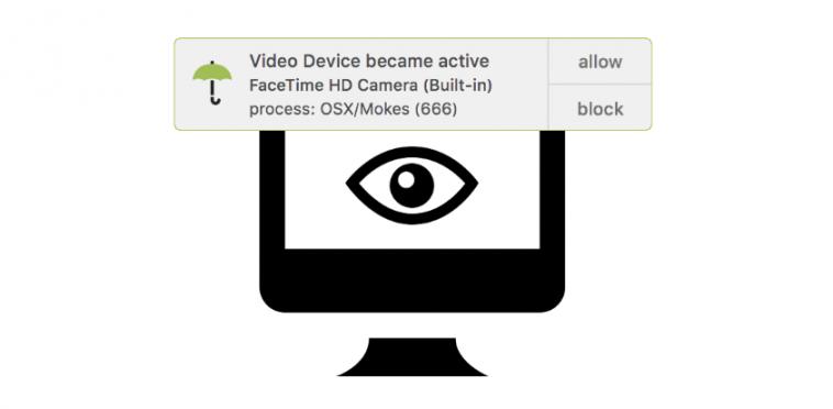 OverSight webcam