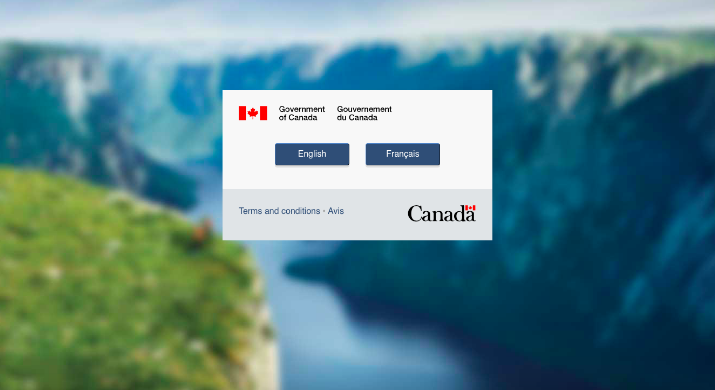 canada immigration website is down