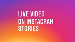 Instagram introduces Live video, disappearing messages