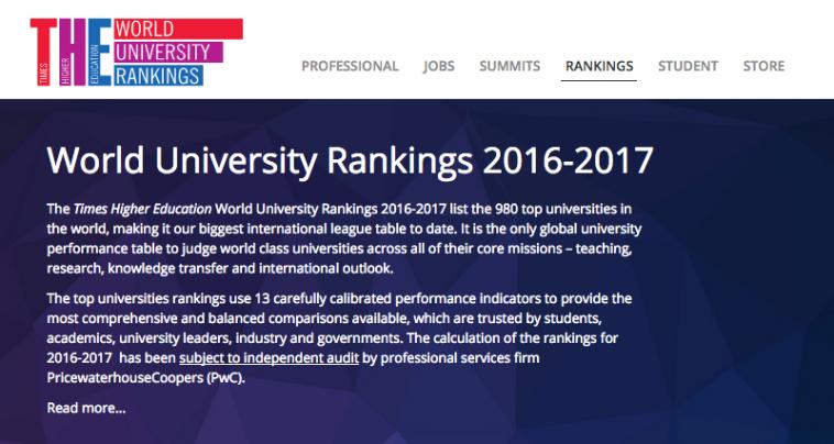 world top 1000 universities