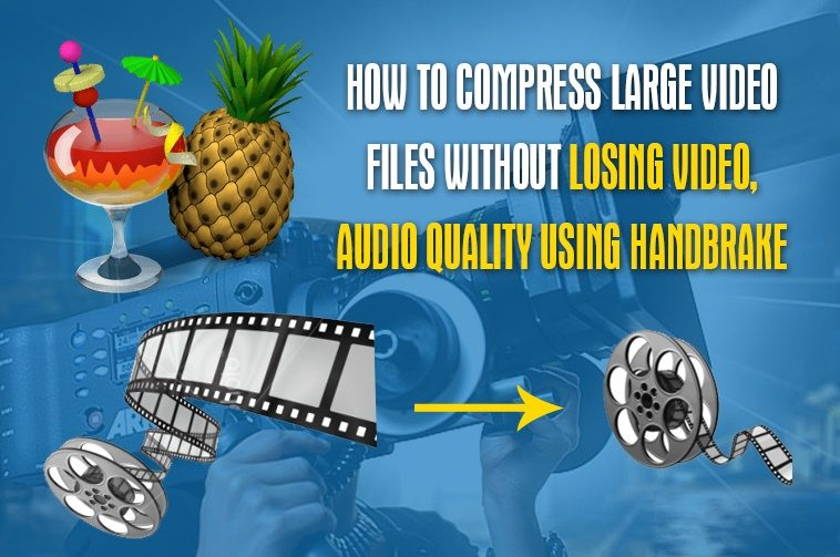 How to compress large video files without losing video