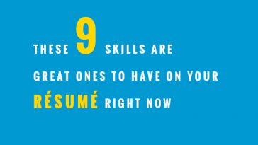 9 skills