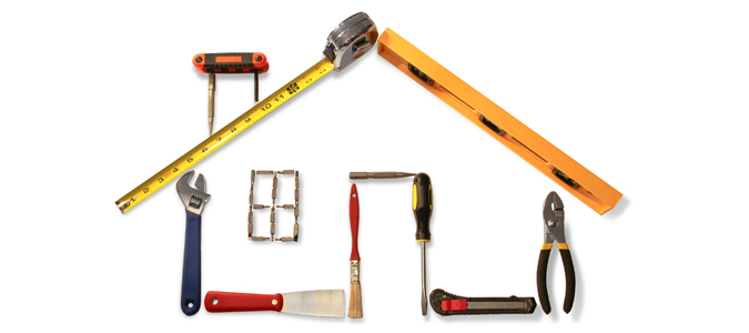 Renovate your home DIY