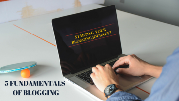 5 fundamentals of blogging