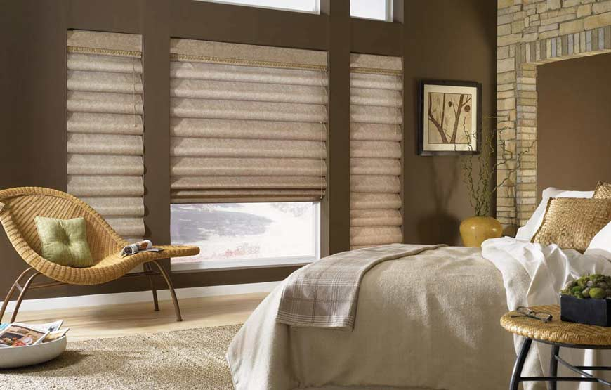 7 types of window blinds for home decor for Cost of blinds for 3 bedroom house