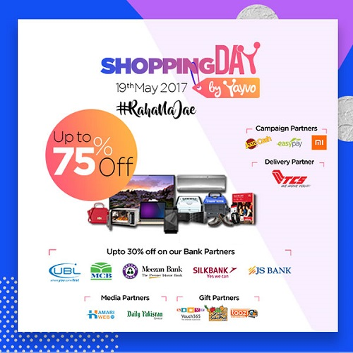 Yayvo Pakistan Shopping Day