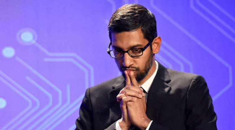 Pic Credits: https://indianexpress.com/about/sundar-pichai/