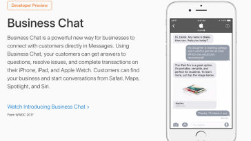 Apple Business Chat