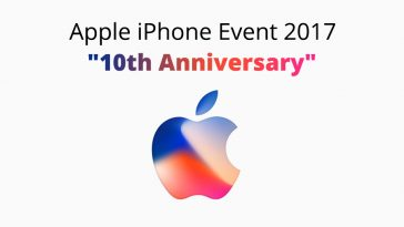 Apple iphone event 2017