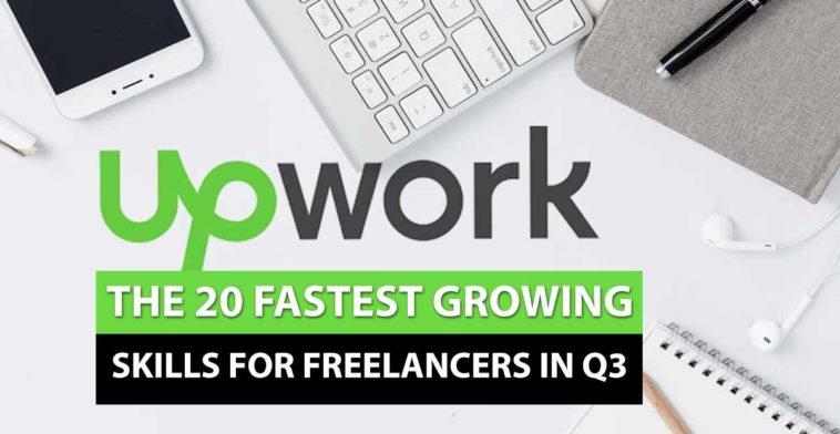 upwork fastest growing freelance skills