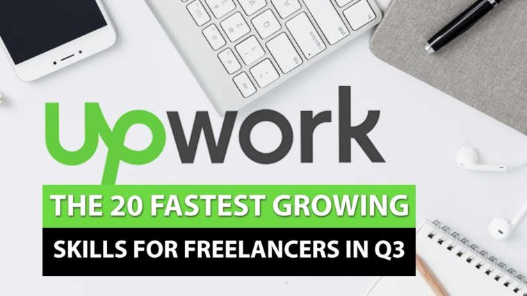 upwork fastest growing freelance skills