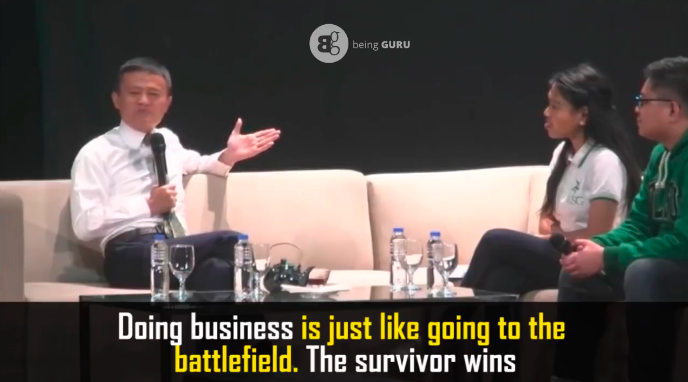 jack Ma on business