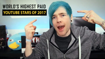 highest paid youtubers 2017