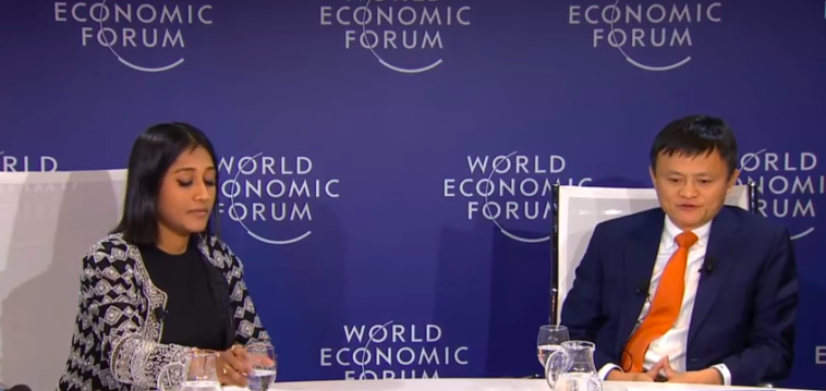 Jack Ma Shares His Views About Success In Life Business At Wef 2018