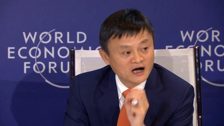 Jack Ma Shares His Views About Success In Life, Business at WEF 2018