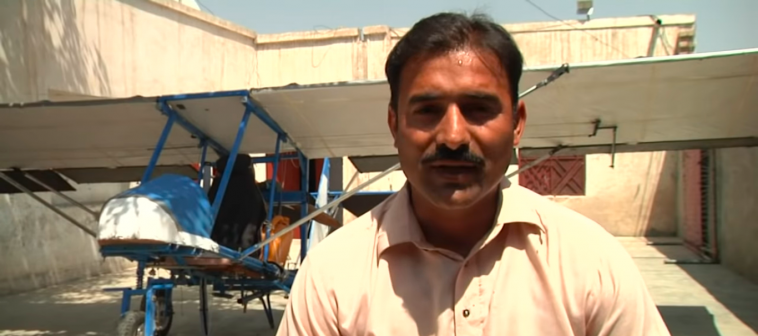 This Pakistani school dropout has created his own plane