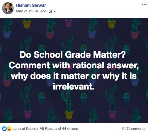 do school grades matter?
