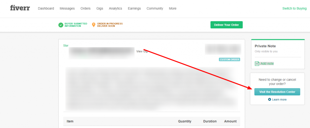 How To Cancel An Order On Fiverr?