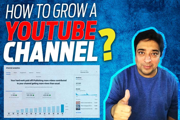 how to grow a youtube channel?