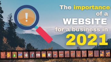 the importance of a website for a business in 2021